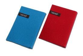 コットン カードケース カダケス(レッド/ディープブルー) 布製 10枚収納 コンサイス クレジットカード pointカード 収納 カード入れ 文具 事務用品