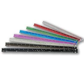 【コンサイス】アルミカラー三角スケール NANO-15 15cm 定規 ものさし デザイン文具 事務用品 製図 【10P20Nov15】 ギフト プレゼント ラッピング