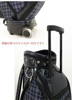 URAGOLF(ユーアールエー)CBURA-008キャスター付きキャディバッグ