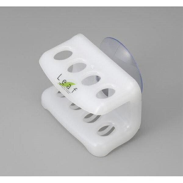 歯間ブラシホルダー 吸盤付 ナチュラル
