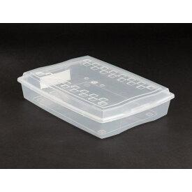 収納箱 フタ付 A4サイズ収納可 34.4×25.3×高さ7.3cm クリア