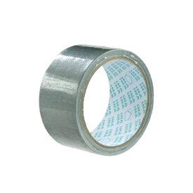 ガムテープ(布テープ) 幅50mm×長さ10m シルバー