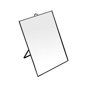 マルチビッグミラー 壁掛・卓上両用 31×23cm [色指定不可]