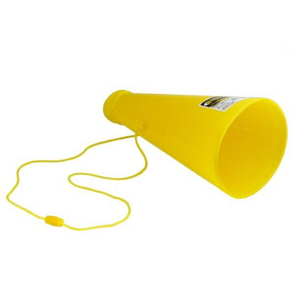 メガホン 黄色 ひも付 全長26cm