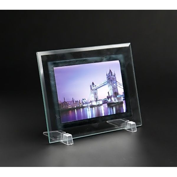 フォトフレーム ガラス製 L版サイズ用