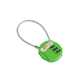 ダイヤルロック(南京錠) ワイヤータイプ