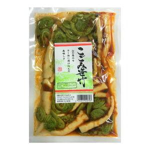こごみ笹竹(ラー油味)こごみ 山菜 笹竹 ラー油風味 観光土産
