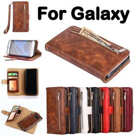 Samsung Galaxy Note8ケース 手帳型 財布型 Galaxy S8 Galaxy S8 Plus レザー ギャラクシーノート8 カード収納 ストラップ付き ウォレット型 おしゃれ おすすめ アンドロイド スマホケース Galaxy Note8 ケース ギャラクシー Galaxy S7 edge 分離式 スタンド機能 カード収納
