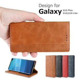 Galaxy s10 ケース Garaxy s10+ ケース Galaxy S10 LITE s10 s10 plus ケース 手帳型 レザー スタンド機能 カード収納 上質なPUレザー シンプル おすすめ おしゃれ スマホ スマートフォンケース レザーケース 保護ケース ギャラクシー S10 PUレザー 耐衝撃