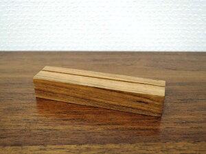 チーク カードスタンド M 5個セット ウッド 木製 アンティーク風 おしゃれ インテリア ディスプレイ ネームスタンド ポストカード プライス 値札立て クラシック ショップ用 店舗用品 アジア