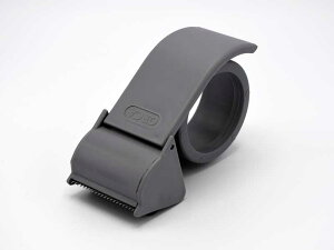 パッキング テープカッター グレイ おしゃれ 梱包資材 ショップ用 かっこいい かわいい ガムテープ 荷造り用品