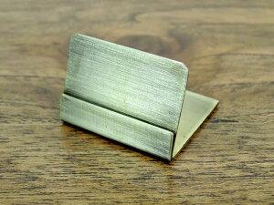 シャマール ブラスカードスタンド 3個セット 真鍮 アンティーク風 おしゃれ インテリア ディスプレイ ネームスタンド ポストカード プライス 値札立て クラシック ショップ用 店舗用品 アジ