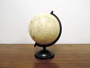 アンティークグローブ オブジェ M 置物 卓上 おしゃれ インテリア ディスプレイ 地球儀 クラシック レトロ 輸入雑貨 アジアン雑貨