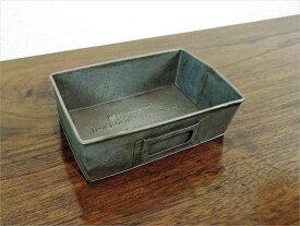 ラスティトレイ S ブリキ ガーデニング シャビー 小物入れ 収納 アジアン雑貨