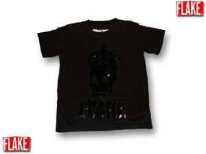 FLAKE ROYAL MAD Tシャツ【B系子供服、ストリートブランド子供服】 フレイク フレークスカルヒップホップ キッズダンス衣装