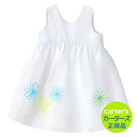 【残り18M&24Mのみ】\SALE/安心のカーターズ正規品 (Carter's)快適コットンワンピース(モダンフラワー)
