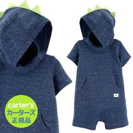 カーターズ (Carter's)コットンロンパース(ネオンスパイク)夏物 ロンパース 肌着 赤ちゃん ベビー ボディスーツ 半袖 (2020WS-A)