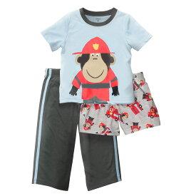 安心のカーターズ正規品 (Carter's)子供用パジャマ上下3点セット(ファイヤーファイター)【パジャマ,スリープウェア,お泊まり, 子供用】
