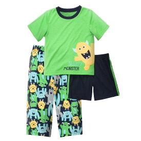 安心のカーターズ正規品 (Carter's)パジャマ上下3点セット(スリーピーモンスター)【パジャマ,スリープウェア,お泊まり, 子供用】