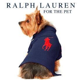 ラルフローレン【Ralph Lauren】犬用 ポロシャツ(Navy Red Logo)