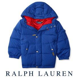 9a0621c583305 ラルフローレン Ralph Lauren フード付ダウンジャケット(ブルー) あす楽