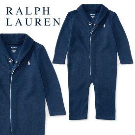 ラルフローレン【Ralph Lauren】コットンカバーオール(フレンチリブ)【あす楽対応】(ベビー 出産祝い 赤ちゃん 男の子 長袖)
