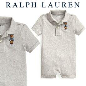 ラルフローレン【Ralph Lauren】デザインコットンロンパース(ポロベアー)【あす楽対応】(ロンパース ベビー 出産祝い Ralph Lauren 赤ちゃん 男の子)