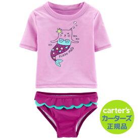 安心のカーターズ正規品(Carter's)ラッシュガード(ピュアメイド)【出産祝い 赤ちゃん スイムウェア プール 水着 お風呂 海水浴】 (2020WS-K)