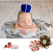 ニューボーンフォト,出産祝い,ティアラ,ベビー,赤ちゃん,クラウン,王様,冠,記念写真,プリンス,バースデー,マタニティフォト,デイジーベビー,DaisyBaby