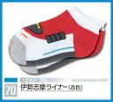 鉄下 伊勢志摩ライナー(赤色)【くるぶしソックス】【鉄道をモチーフにした靴下】【鉄道ソックス】【キッズサイズ】…
