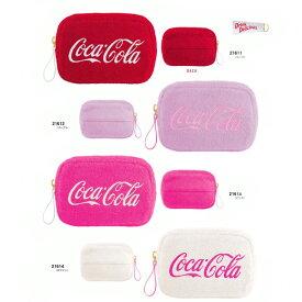 ネコポス送料無料 コカコーラ ティッシュポーチ 21611-21614 Enjoy Coca-Cola カミオジャパン キャラクター グッズ メイク 化粧 小物入れ あす楽