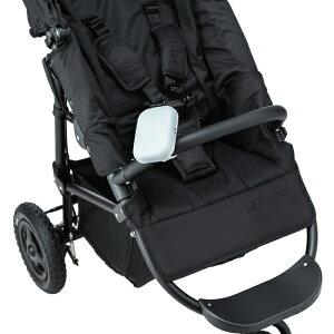【送料無料】BabyHopper(ベビーホッパー)ベビーカー&ベビーキャリア用ポータブル扇風機(ブラック/グレー/ネイビー)暑さ対策エルゴオムニ対応扇風機抱っこ紐ベビーキャリア赤ちゃん安全