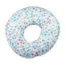 ベビー枕 頭の形【メール便送料無料♪】Esmeralda(エスメラルダ)ドーナツ枕 フラワーガーデン 赤ちゃん 頭の形が良…