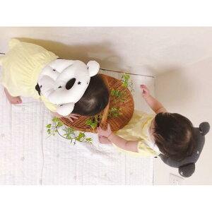 インスタグラムお写真♪転倒防止赤ちゃんゴッツン防止新商品Esmeralda(エスメラルダ)転倒防止クッション枕まもっクマ転倒防止リュック【日本製まる型ベビーまくら出産祝いごっちんくまインスタ映え】ドーナツ枕ベビーピローベビー枕お昼寝マモックマ