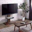 ●送料無料● テレビ台 テレビスタンド 壁寄せ キャスター 白 ホワイト ロータイプ 壁寄せテレビスタンド コーナー 32…
