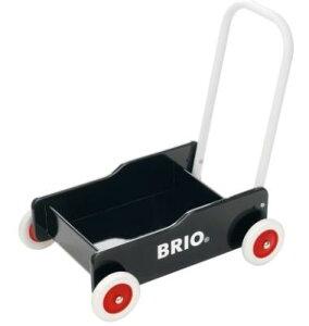 BRIO ブリオ 31351 手押し車(黒)【北海道・沖縄及び離島発送不可】