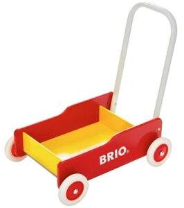 BRIO ブリオ 31350 手押し車(赤)【北海道・沖縄及び離島発送不可】
