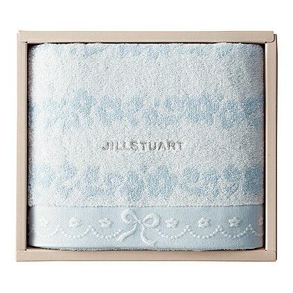 【送料無料 送料込み】JILLSTUART(ジルスチュアート)ブルームリボンバスタオル【内祝い 出産内祝い お返し 返礼 御礼 内祝いギフト】