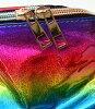Lady's fashion street dance metallic shoulder BAG of baby Shoop ベイビーシュープ B origin