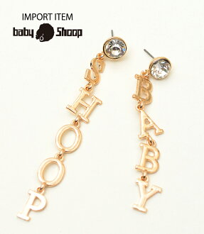 baby Shoop ベイビーシュープ BABYSHOOP pierced earrings