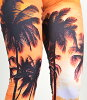 baby Shoop baby Shoo pre-Gin pickpocket Arp lint palm tree pattern leggings