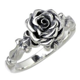 GIGOR【ジゴロウ】 薔薇 シルバー リング 指輪 ローズ シルバーアクセサリー シルバー925 NO-160