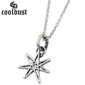 cooldust FUNKOUTS【クールダスト】 seven pointed star シルバー ネックレス カラーストーン スター 星 メンズ シルバーアクセサリー シルバー925 FCN-083CL60