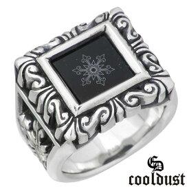 cooldust FUNKOUTS【クールダスト】 スノーフレークオブスカルプチャー シルバー リング 21号 指輪 カラーストーン シルバーアクセサリー シルバー925 FCR-026-21