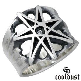 cooldust FUNKOUTS【クールダスト】 seven pointed star シルバー リング 指輪 スター 星 メンズ 17〜21号 シルバーアクセサリー シルバー925 FCR-082