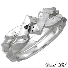 DEAL LTD【ディール エルティーディー】シルバー リング 指輪 SILK CUT GIMEL RING メンズ レディース 7〜23号 310246