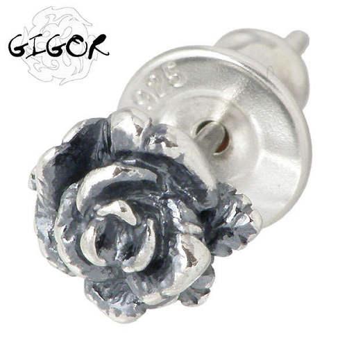 GIGOR【ジゴロウ】 ガラード シルバー ピアス 1個売り 片耳用 シルバーアクセサリー シルバー925 NO-254