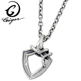 GIGOR【ジゴロウ】ジオスネイブ シルバー ネックレス 蛇 メンズ レディース NO-349SV
