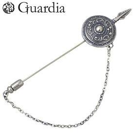 ガルディア Guardia Curcular Shield 槍 & 盾 シルバー ピンブローチ シルバー925 スターリングシルバー ATBC-001SV