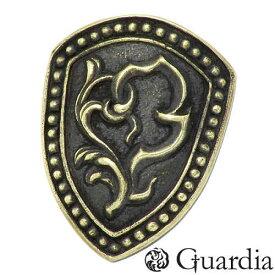 Guardia【ガルディア】 Guardia Shield 盾 真鍮 ピンバッジ ATBC-002BR
